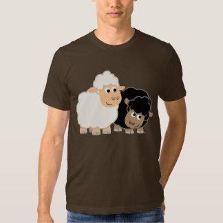 Two Cute Cartoon Sheep T-Shirt