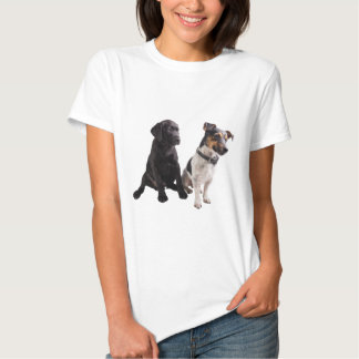 two cute dogs t-shirt
