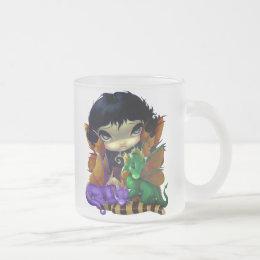 """Two Cute Dragonlings"" Mug"
