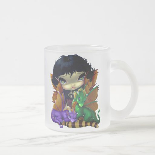 """Two Cute Dragonlings"" Mug"