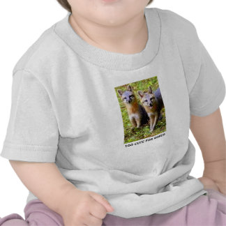 TWO CUTE FOR WORDS SHIRT