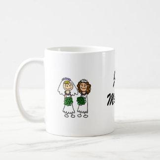 Two Cute Little Brides Classic White Coffee Mug