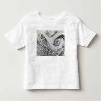 Two cyclones formed in tandem south of Iceland Toddler T-shirt