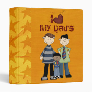 two dads scrapbook/ photo album 3 ring binder