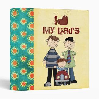 two dads scrapbook/ photo album binder