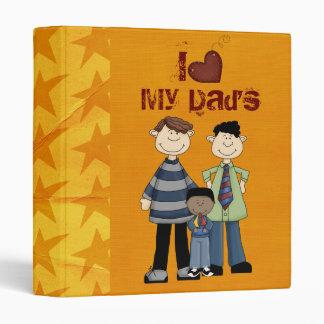 two dads scrapbook/ photo album vinyl binders