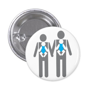 Two Dads, Two Sons Pin