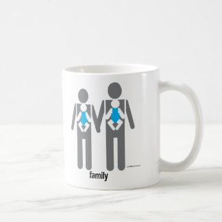 Two Dads, Two Sons Coffee Mugs