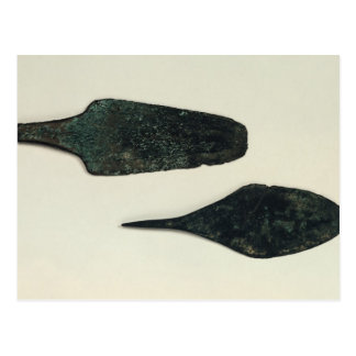Two daggers, 2000-1800 BC Postcard