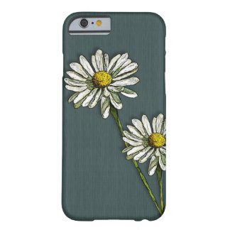 Two Daisies, Daisy Flower, Original Art Barely There iPhone 6 Case