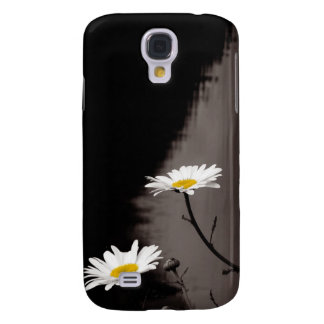 Two Daisies - Selective Color, Black and White Galaxy S4 Case