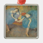 Two Dancers at Rest or, Dancers in Blue, c.1898 Ornament