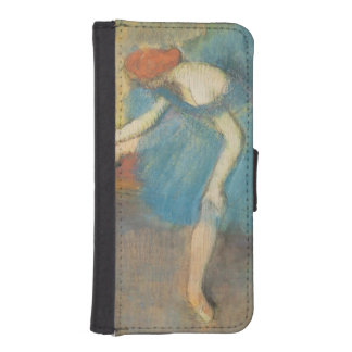 Two Dancers at Rest or, Dancers in Blue, c.1898 Phone Wallet Cases
