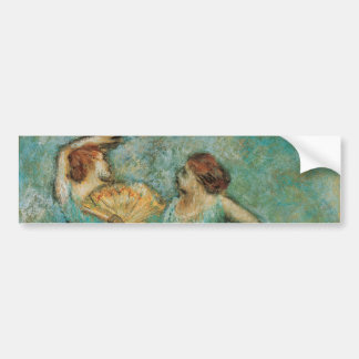 Two Dancers by Edgar Degas Bumper Sticker