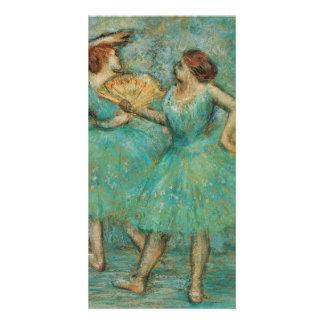 Two Dancers by Edgar Degas Card