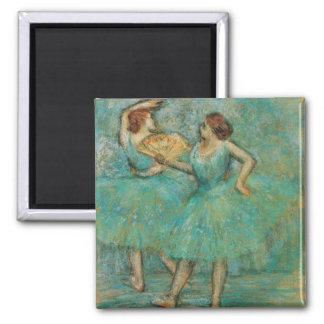 Two Dancers by Edgar Degas Magnet