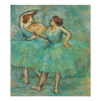 Two Dancers by Edgar Degas Photo