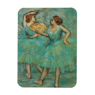 Two Dancers by Edgar Degas Magnet