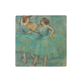 Two Dancers by Edgar Degas Stone Magnet