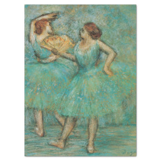 Two Dancers by Edgar Degas Tissue Paper