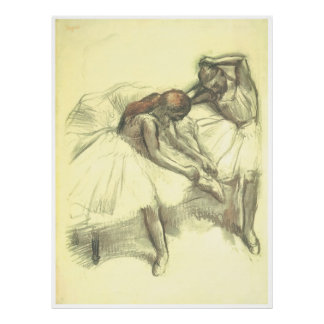 Two Dancers, c. 1898-1903, Edgar Degas Poster