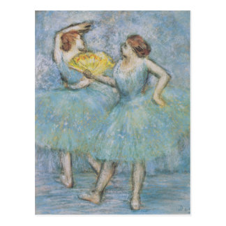 Two dancers - Edgar Degas Post Card