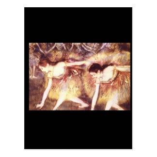 Two Dancers_Impressionists Postcard