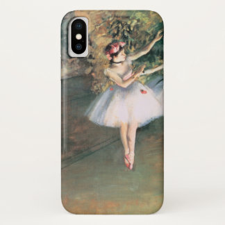 Two Dancers on a Stage by Edgar Degas, Vintage Art iPhone X Case