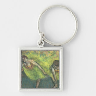 Two dancers relaxing (pastel) keychains