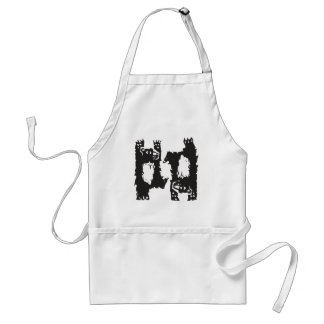 Two Dancing Bears Adult Apron