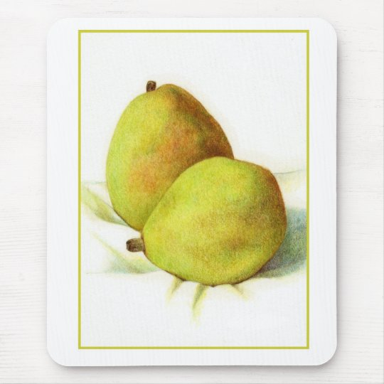 Two D'Anjou Pears Mousepad