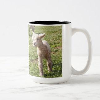 Two Days Old Two-Tone Coffee Mug