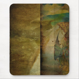 Two Delicate Screens Mouse Pad