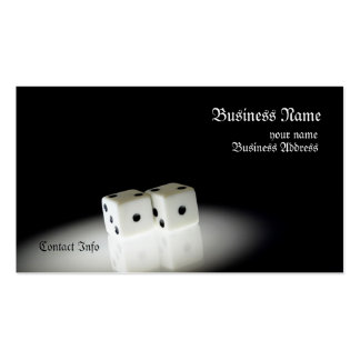Two Dice Business Card