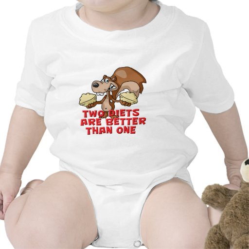 Two Diets Baby Bodysuit