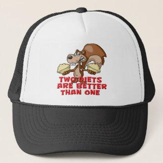 Two Diets Trucker Hat