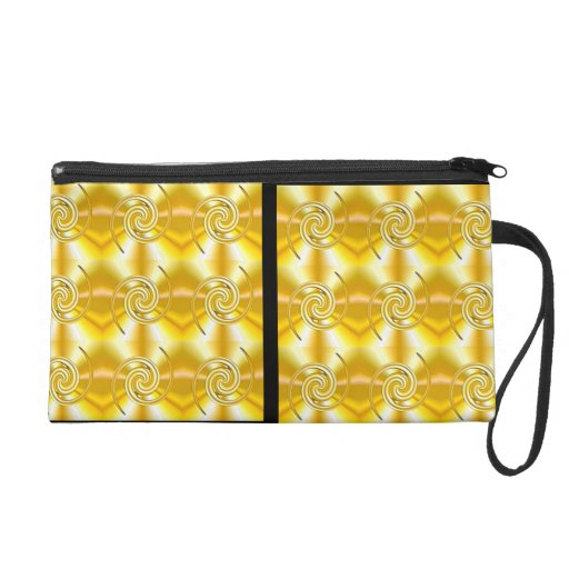 Two different sides wristlet clutch