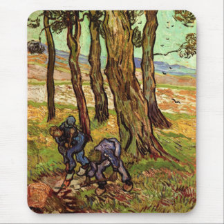 Two Diggers Among Trees Mouse Pad