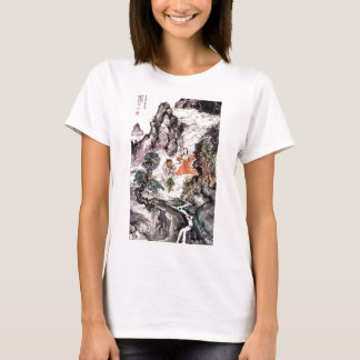 Two Divinities Dancing c. 1924 Japanese Painting T-Shirt