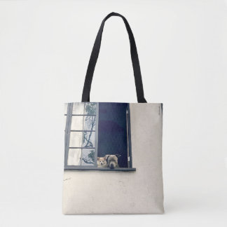 Two Doggies In The Window Tote Bag (double sided)