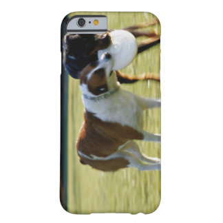 Two Dogs Fighting over Plastic Disc Barely There iPhone 6 Case
