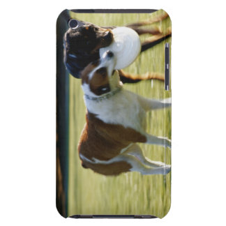 Two Dogs Fighting over Plastic Disc iPod Touch Cover
