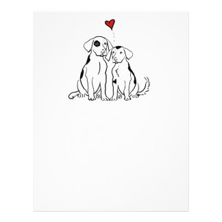 Two Dogs Puppy Love Flyer