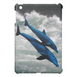 Two Dolphins Swiming at Sea Cover For The iPad Mini
