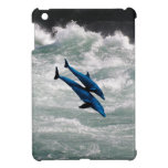 Two Dolphins Swiming at Sea iPad Mini Covers