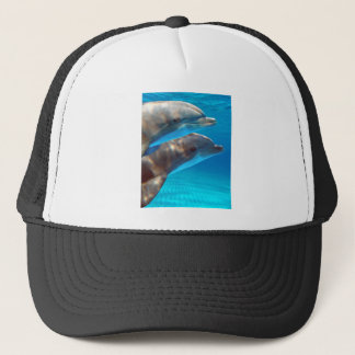 Two Dolphins swimming Trucker Hat