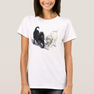 Two Doodles Ladies T-shirt
