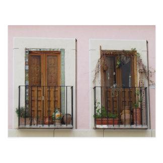 Two Doorways in Toledo, Spain Postcard