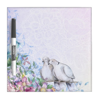 Two Doves Dry-Erase Board