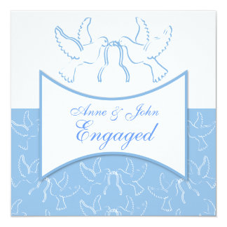 Two Doves Engagement Card